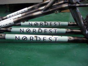 making the Nordest Bardino frame