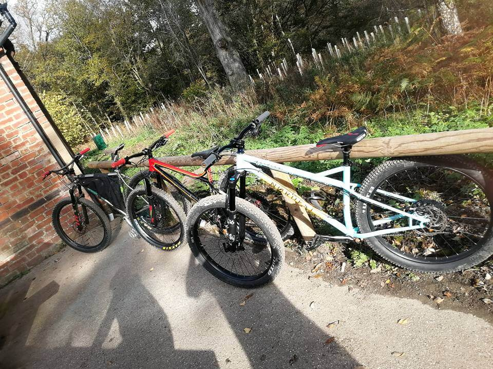 demo day forest of dean, uk. steel is real mtb